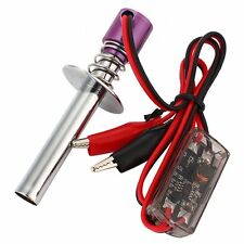Upgraded Electronic Glow Plug Starter Igniter for Nitro RC Car Boat Heli 80100 P