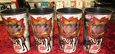 KISS Super Big Gulp Cup Set Of 4 Gene Simmons, Paul Stanley, Eric Singer, Tommy