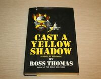Cast A Yellow Shadow by Ross Thomas 1967 Hardcover FIRST EDITION
