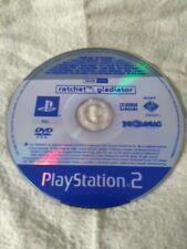 Ratchet Gladiator Playstation 2 Promo Disc. No Box