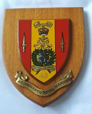 Old Oak 43 Commando Royal Marines Regiment Regimental Oak Crest Shield Plaque