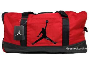 Air Jordan Premium Jumpman GymRed Water Resistant Duffle Bag