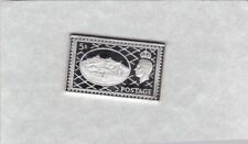George Vi Five Shillings Silver Stamp Ingot Near Mint Condition