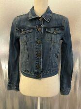 J Crew Womens Sz XS Classic Vintage Look Indigo Denim Nolita Jean Jacket