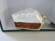 Chocolate Cream Pie Old World Christmas glass ornament