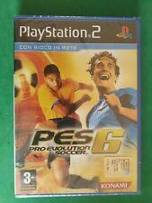 PRO EVOLUTION SOCCER 6 PS2 NEW PAL IT NUEVO RARE ITALIANO