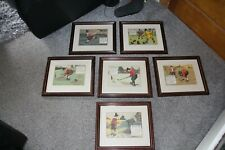 New listing COLLECTION OF VINTAGE CHARLES CROMBIE PRINTS             REF2