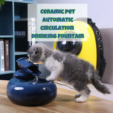 1.3 L Automatic Electric Pet Water Fountain Dog Cat Drinking Dispenser Bowl Dish