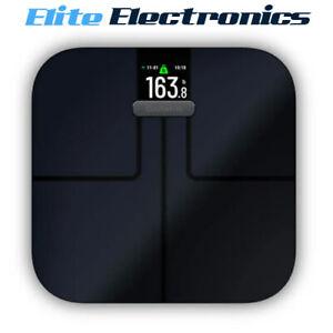 Garmin Index S2 Fitness Smart Wi-Fi Bluetooth BMI Scale Black 010-02294-12