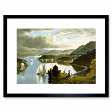 Paintings Landscape West Point Military Academy Framed Wall Art Print