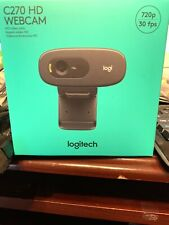 Logitech HD Webcam C270 720p Widescreen Video Calling and Recording IN HAND!🔥