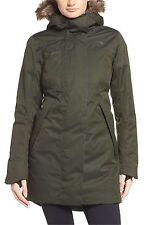 NEW The North Face Womens FAR NORTHERN WATERPROOF PARKA Jacket Medium Green Down