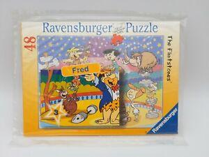 48 Pieces Puzzle - The Flintstones - Motif Fred - Ravensburger - Rarity