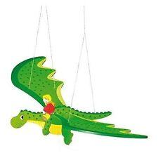 Goki 52932 Schwingtier Drache grün ()