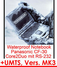Panasonic Cf30 Mk3 Notebook 4gbram 500 Gb Wifi Touch Screen Rs232 Umts Armoured
