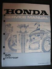 1990 VFR750F VFR 750 F Honda Original Service Repair Shop Manual E32