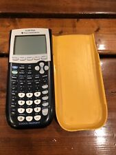 Texas Instruments TI-84 Plus Graphing Calculator - Orange / Black- For Parts N/W