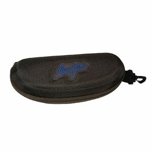 MAUI JIM Hard Brown Sunglasses Glasses Zippered Sport Clip CASE ONLY