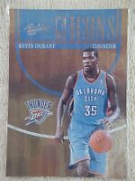 KEVIN DURANT 2010-11 ABSOLUTE MEMORABELIA ICONS CARD #8 189/399