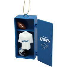 NFL Detroit Lions TEAM LOCKER Ornament, NEW