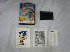 Sonic Spinball original  Sega Master System Brazil