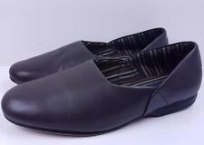 ❤ Men's brown leather slippers lounge shoes Clarks Ross in Brown UK 7 (w) ❤