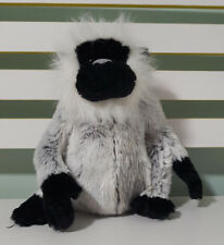 GANZ WEBKINZ GREY LANGUR MONKEY PLUSH TOY! SOFT TOY 21CM SEATED !