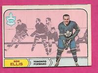 1968-69 OPC # 126 LEAFS RON ELLIS EX CARD  (INV# A9269)