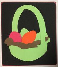 Sizzix Large Original Die Cutter ~ EASTER BASKET & EGGS ~ Bunny Holiday Egg Hunt
