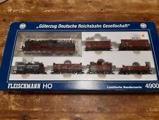 More details for flieschmann ho 4900 set 'güterzug deutsche reichsbahn gesellschaft' limited ed.