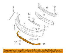 KIA OEM 06-12 Sedona Front Bumper-Spoiler Lip Chin Splitter 865914D000