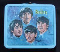 Vintage BEATLES Lunchbox - John Paul George Ringo (Key 1966) C-8 Super Fab!