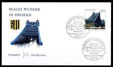 "Brücke ""Blaues Wunder"", Dresden. FDC(2). Berlin. BRD 2000"