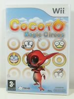 Cocoto Magic Circus Nintendo Wii Game Mint Condition Complete PAL Fast Free P&P
