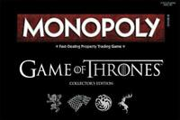Game of Thrones Monopoly Board Game GOT Collectable Edition