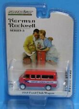 "GREENLIGHT 1:64 *NORMAN ROCKWELL"" R3D 1968 Ford Club Wagon"