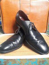 Negro Genuino Cuero Grenson footmaster zapatos talla 13