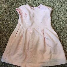 Carter's 2T pink Girls Baby Dress Sparkles Diamonds retail $40 Formal Wedding