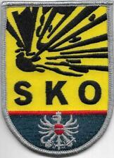Österreich SKO = SACHKUNDIGE ORGANE Sprengstoff Polizei Abzeichen Patch  color