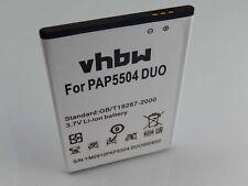 Batteria 2500mAh 3.7V Li-Ion per Prestigio PAP5504 DUO / PAP5504DUO