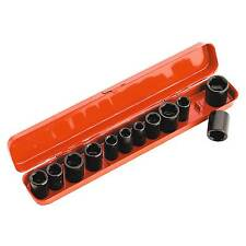 Sealey impacto Socket Set 12pc - 3/8 Pulgadas Cuadrados metric/imperial-ak682