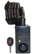 Spiral Alarmschloss mit Bewegungsmelder Kabelschloss Security Plus AL07
