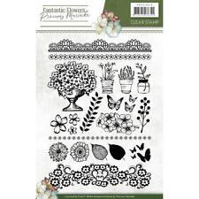 Stempel - Clearstamp - Fantastic Flowers von Precious Marieke (PMCS10018)