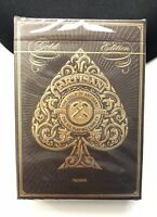 Artisan Playing Cards Theory11 Gold Edition Deck - Factory Sealed