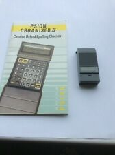 Psion II Concise Oxford Spelling Checker datapack, with instruction manual