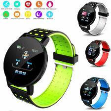Bluetooth Smartwatch Fitness Tracker Armband Damen Herren Sportuhr Wasserdicht