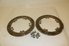 HARLEY DAVIDSON OEM V ROD FRONT ROTORS WITH BOLTS AND WASHERS 44343-01