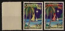 COCOS - KEELING ISLANDS - 1989 - Natale. Un angolo difettoso