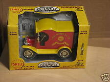 1996 GEARBOX TOY (SHELL)1912 FORD CAR DIE-CAST BANK