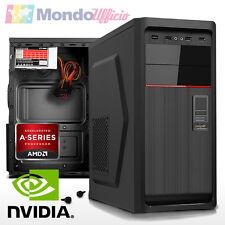 PC Computer AMD Athlon X4 860K QUAD CORE - Ram 8 GB - HD 1 TB - nVidia GT730